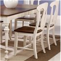 Canadel Custom Dining <b>Customizable</b> Side Chair - Wood Seat - Item Number: CHA006001965MPC