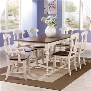 Canadel Custom Dining <b>Customizable</b> Rectangular Table Set