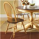 Canadel Custom Dining <b>Customizable</b> Windsor Side Chair - Item Number: CHA000411801ANA