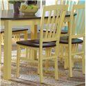 Canadel Custom Dining <b>Customizable</b> Side Chair - Item Number: CHA000481461ANA