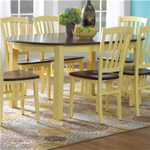 Canadel Custom Dining BCustomizable B Oval Table With Legs