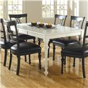 Canadel Custom Dining <b>Customizable</b> Rectangular Table - Item Number: TRE036688080ALAD1