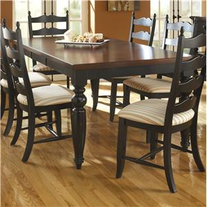 Canadel Custom Dining <b>Customizable</b> Rectangular Table
