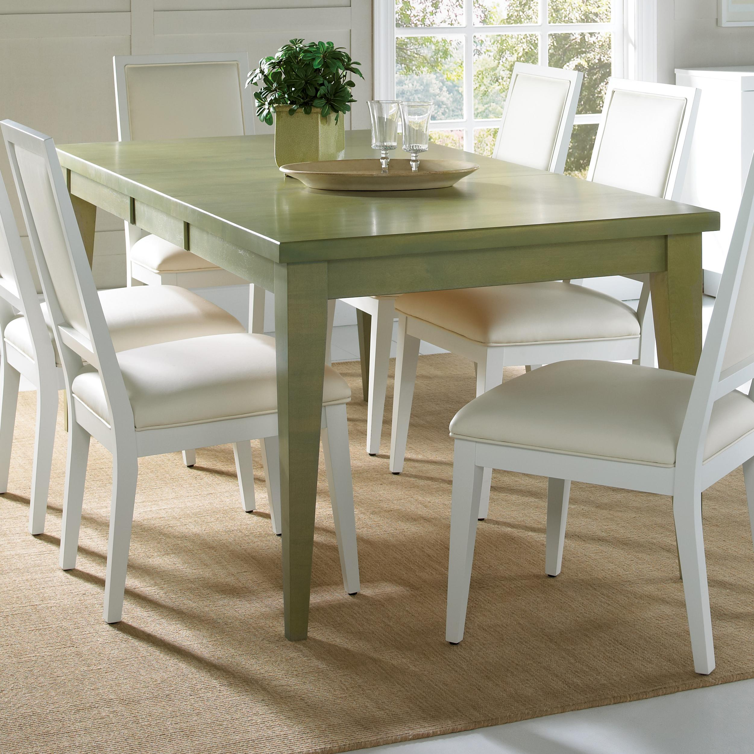 Custom Kitchen Tables: Canadel Custom Dining Customizable Rectangular Table With