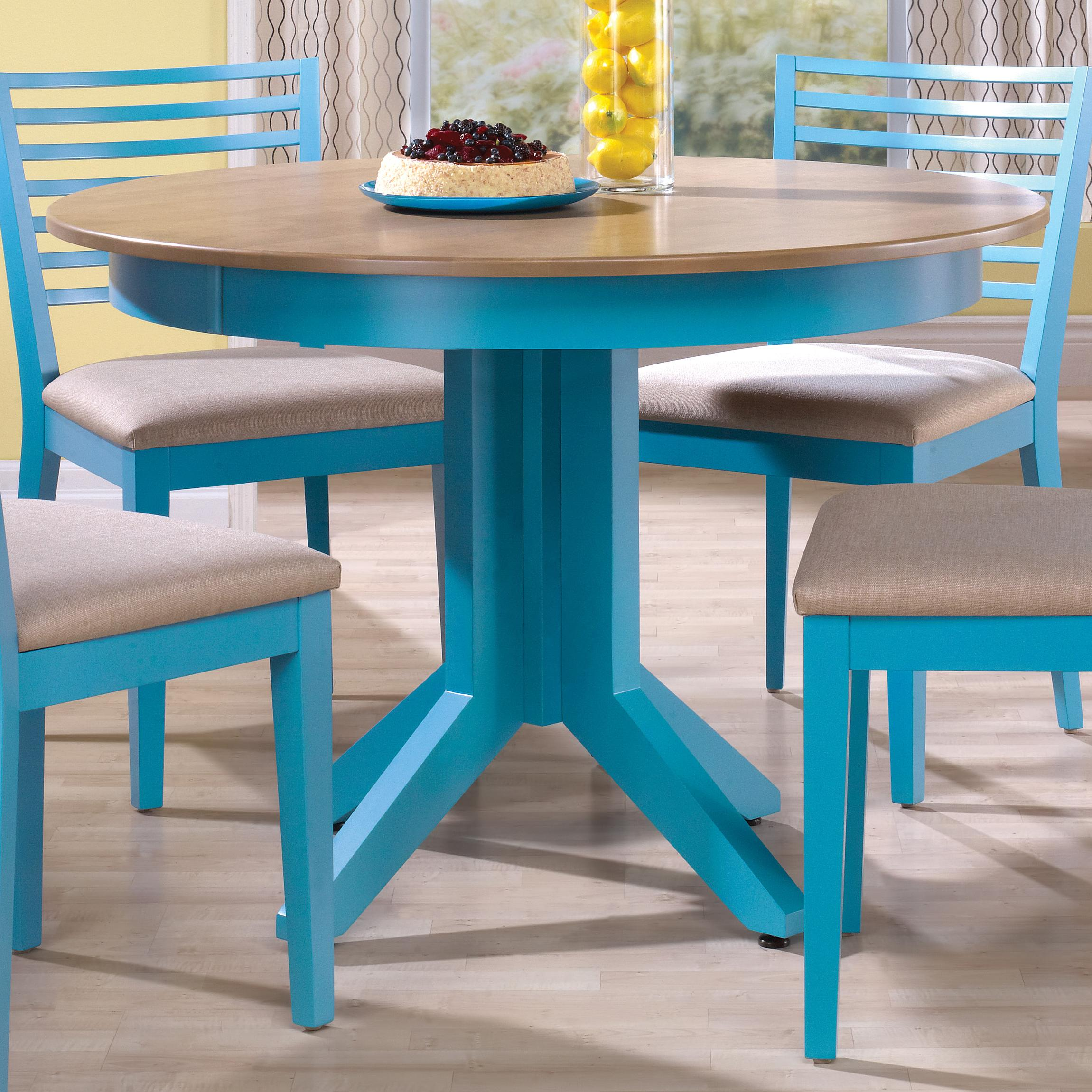 Canadel Custom Dining Customizable Round Table with Pedestal ...