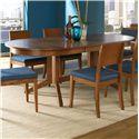 Canadel Custom Dining <b>Customizable</b> Oval Table - Item Number: TOV042620606MXQD1
