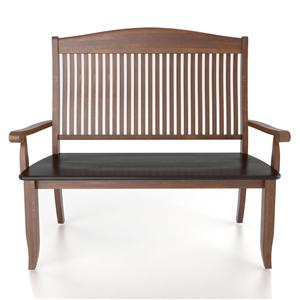 Canadel Custom Dining <b>Customizable</b> Bench