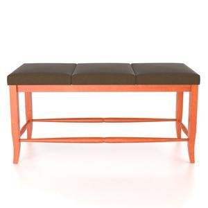 "Canadel Custom Dining <b>Customizable</b> Upholstered Bench, 24"""
