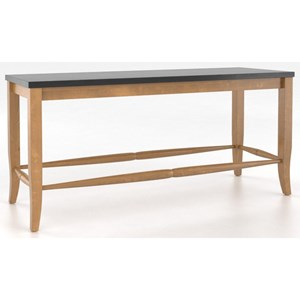 Canadel Custom Dining <b>Customizable</b> Wooden Seat Bench, 24""