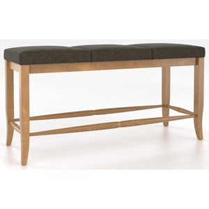 Canadel Custom Dining <b>Customizable</b> Upholstered Bench, 26""