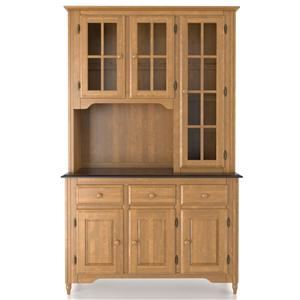 Canadel Custom Dining <b>Customizable</b> 48 Inch Buffet & Hutch