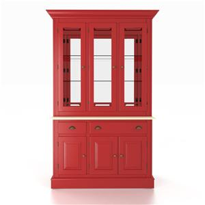 <b>Customizable</b> 48 Inch Buffet & Hutch