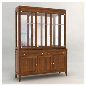 <b>Customizable</b> 60 Inch Hutch & Buffet