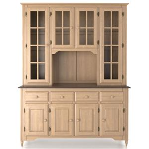 Canadel Custom Dining <b>Customizable</b> 60 Inch Buffet & Hutch