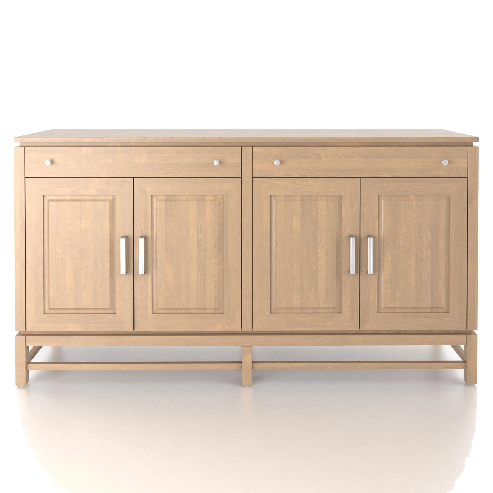 Custom Dining <b>Customizable</b> Buffet by Canadel at Saugerties Furniture Mart