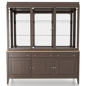 <b>Customizable</b> 72 Inch Buffet & Hutch