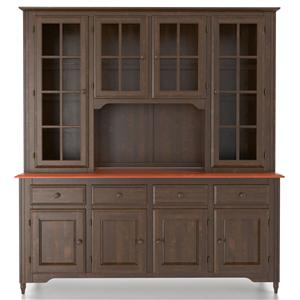 Canadel Custom Dining <b>Customizable</b> 72 Inch Buffet & Hutch