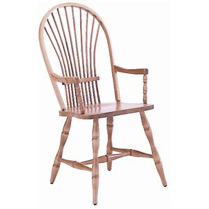 <b>Customizable</b> Windsor Arm Chair