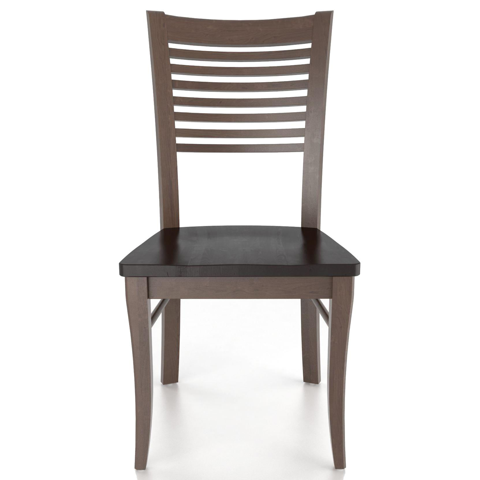 Custom Dining <b>Customizable</b> Side Chair by Canadel at Saugerties Furniture Mart