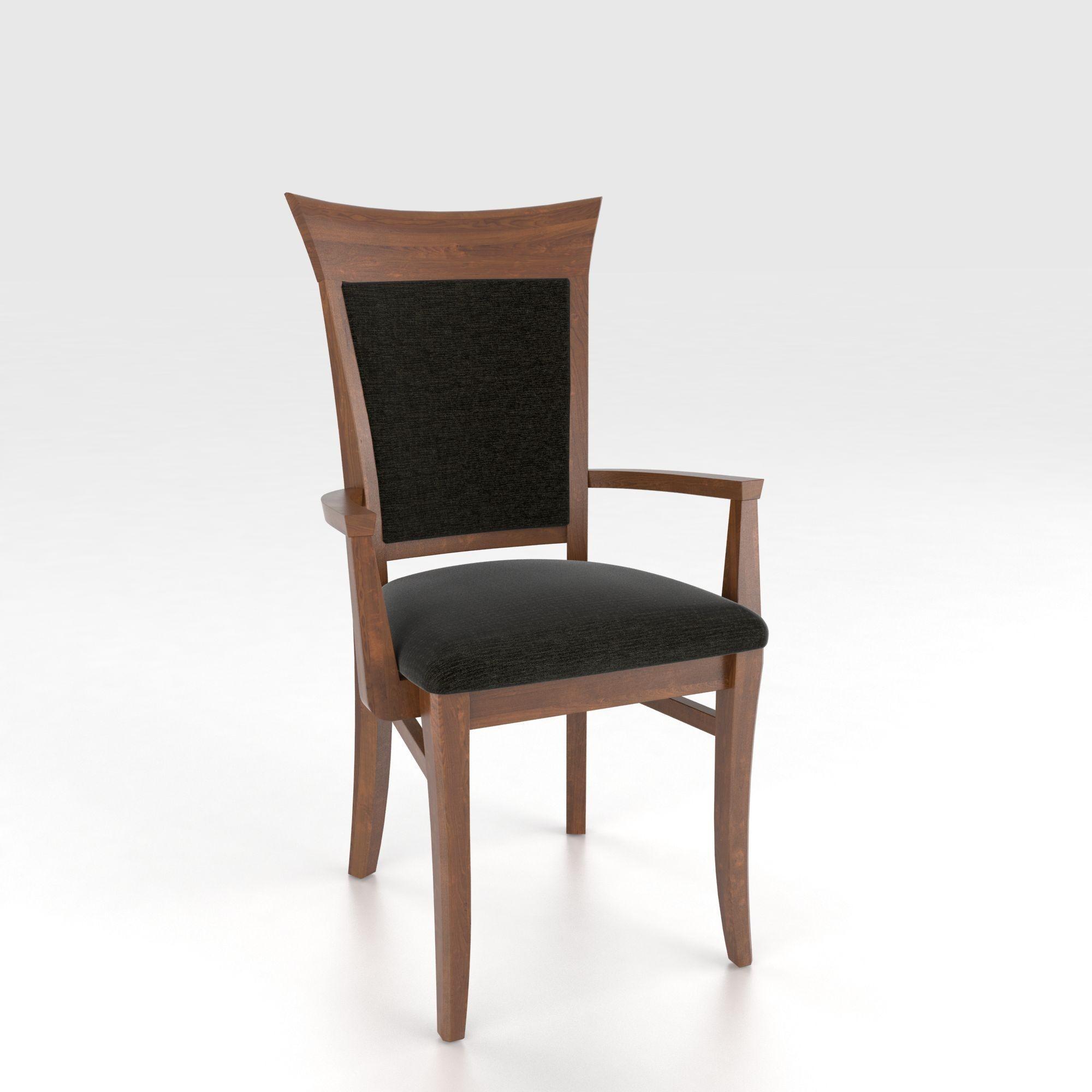 Canadel Custom Dining Can00274ts14mna Customizable Upholstered Armchair John V Schultz