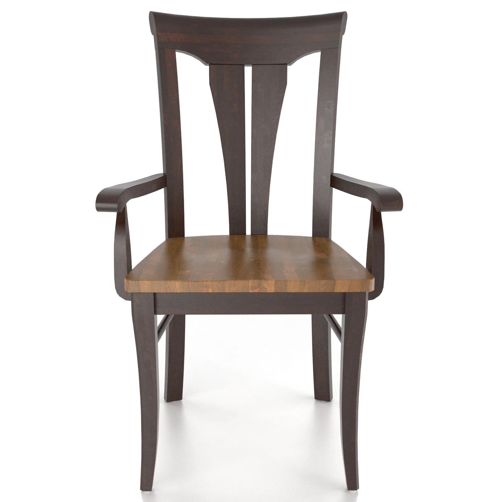 <b>Customizable</b> Armchair - Wood Seat