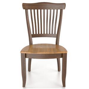 Canadel Custom Dining <b>Customizable</b> Side Chair - Wood Seat