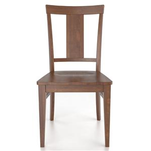 Canadel Custom Dining <b>Customizable</b> Side Chair - Wood Seat
