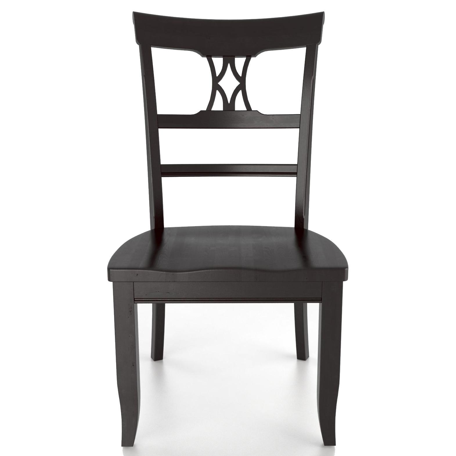 <b>Customizable</b> Side Chair - Wood Seat