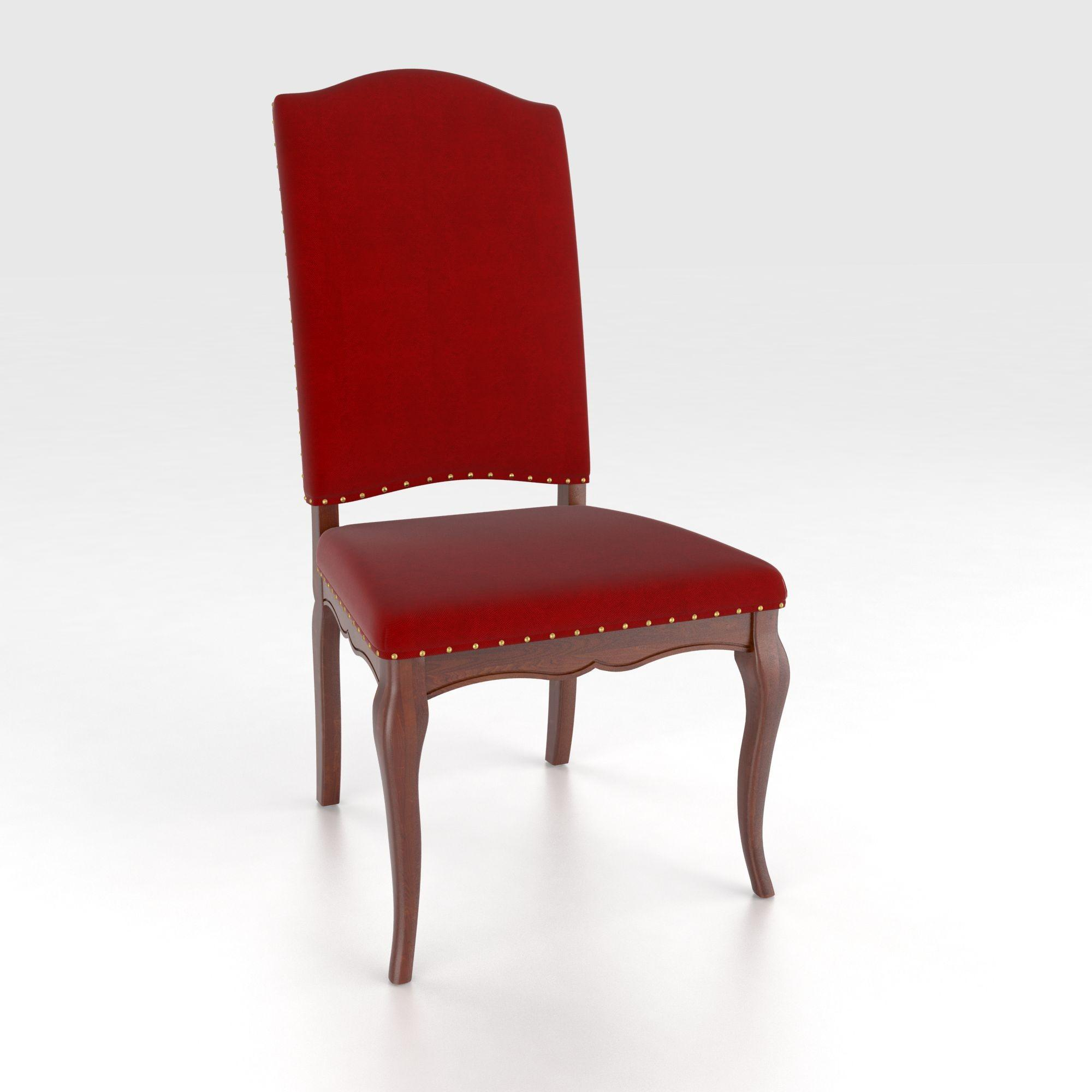 Custom Upholstered Side Chair: Canadel Custom Dining Traditional Customizable Upholstered