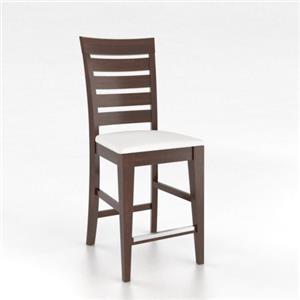 Canadel Custom Dining Custom Counter Height Chair