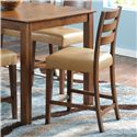 "Canadel Custom Dining - High Dining <b>Customizable</b> 24"" Fixed Bar Stool - Item Number: STO08039XF33M24F"