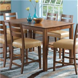 Canadel Custom Dining - High Dining <b>Customizable</b> Counter Height Table