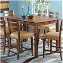 Canadel Custom Dining - High Dining <b>Customizable</b> Counter Height Table - Item Number: TRE036683333MHECF