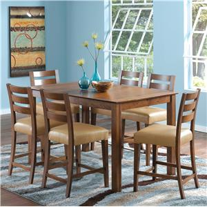 Canadel Custom Dining - High Dining <b>Customizable</b> Counter Height Table Set