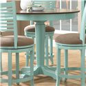 Canadel Custom Dining - High Dining <b>Customizable</b> Round Counter Table - Item Number: TRN042421475MYLCF
