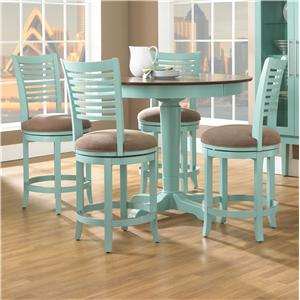 Canadel Custom Dining - High Dining <b>Customizable</b> Round Counter Table Set