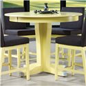 Canadel Custom Dining - High Dining <b>Customizable</b> Round Counter Table - Item Number: TRN048486161MXJDF
