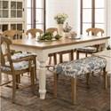 Canadel Custom Dining Customizable Rectangular Dining Table - Item Number: TRE042822080MHATF