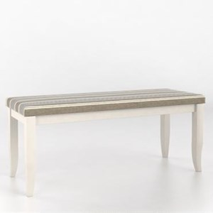 Canadel Custom Dining Customizable Upholstered Bench