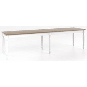 Customizable Wood Bench