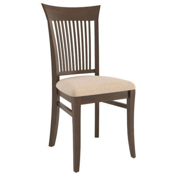 Core - Custom Dining Customizable Upholstered Dining Side Chair by Canadel at Dinette Depot