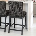 Canadel Core - Custom Dining Customizable Upholstered Counter Stool - Item Number: SNF08002NM63M24