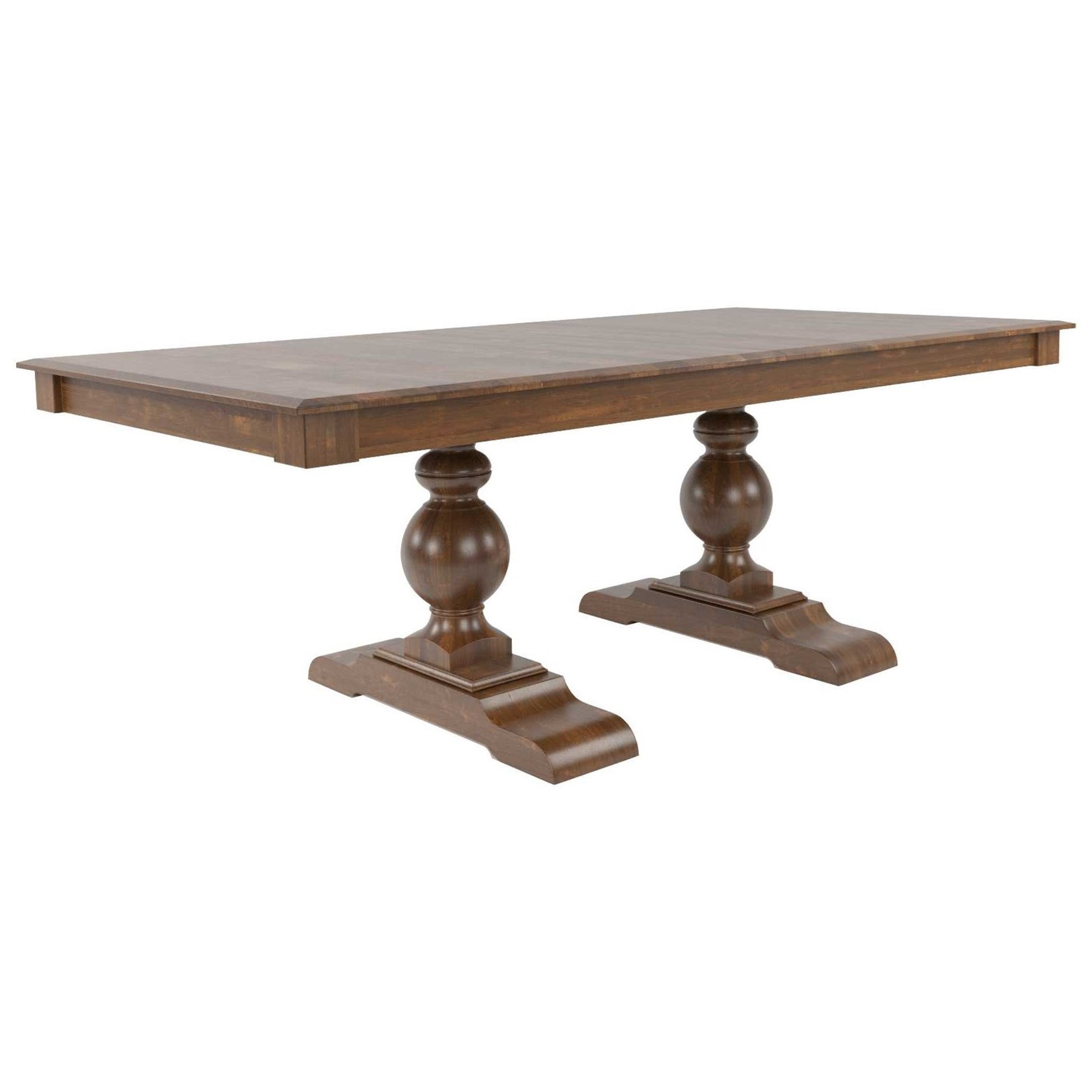 Core - Custom Dining Customizable Dining Table by Canadel at Dinette Depot