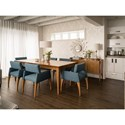 Canadel Custom Dining Customizable Contemporary Rectangular Dining Table