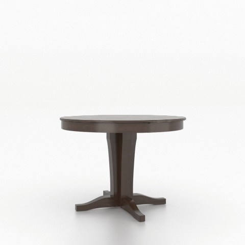 Core - Custom Dining Customizable Round Counter Table by Canadel at Baer's Furniture