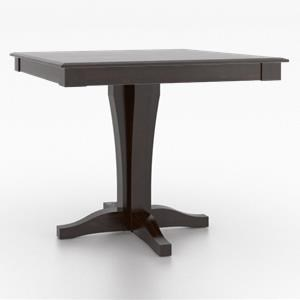Core - Custom Dining Customizable Square Counter Table by Canadel at Dinette Depot