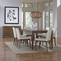 Canadel Custom Dining Customizable Side Chair with Upholstered Seat and Back