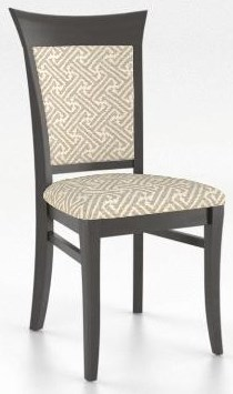 Custom Dining Upholstered Side Chair by Canadel at Johnny Janosik