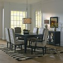 Canadel Custom Dining Dining Room Group - Item Number: Set 35 Dining Room Group 1