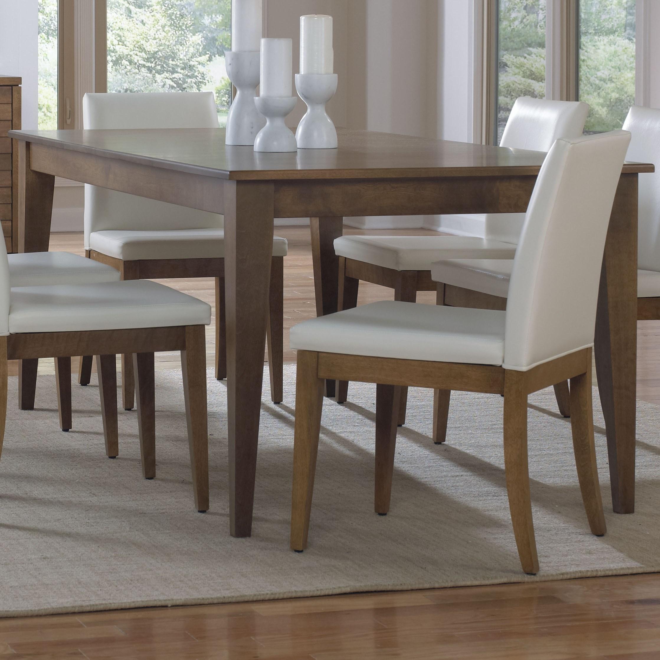 Canadel Custom Dining Tre038760303mpgdf Customizable Rectangular Dining Table Becker Furniture Dining Tables